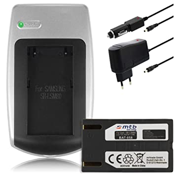 7b1ce0f1ea6d Charger + Battery SB-LSM80 for Samsung SC-D355, D362: Amazon.co.uk: Camera  & Photo