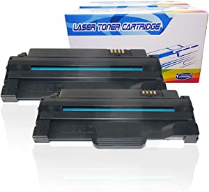 Inktoneram Compatible Toner Cartridges Replacement for Dell 1133 1135n 1130 1130n High Yield 330-9523 2.5K (Black, 2-Pack)