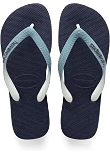 Havaianas Top Mix, Chanclas Unisex Adulto, Multicolor (White/Blue/Navy 2763), 43/44 EU (41/42 Brazilian)