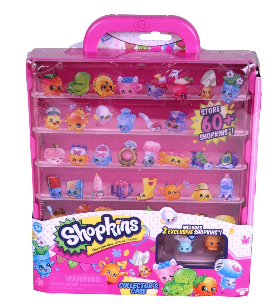 Shopkins Shopkins Shopkins 'Pop Up Shop' Collectors Case - Series 3 (includes 2 Shopkins) 4bcb26