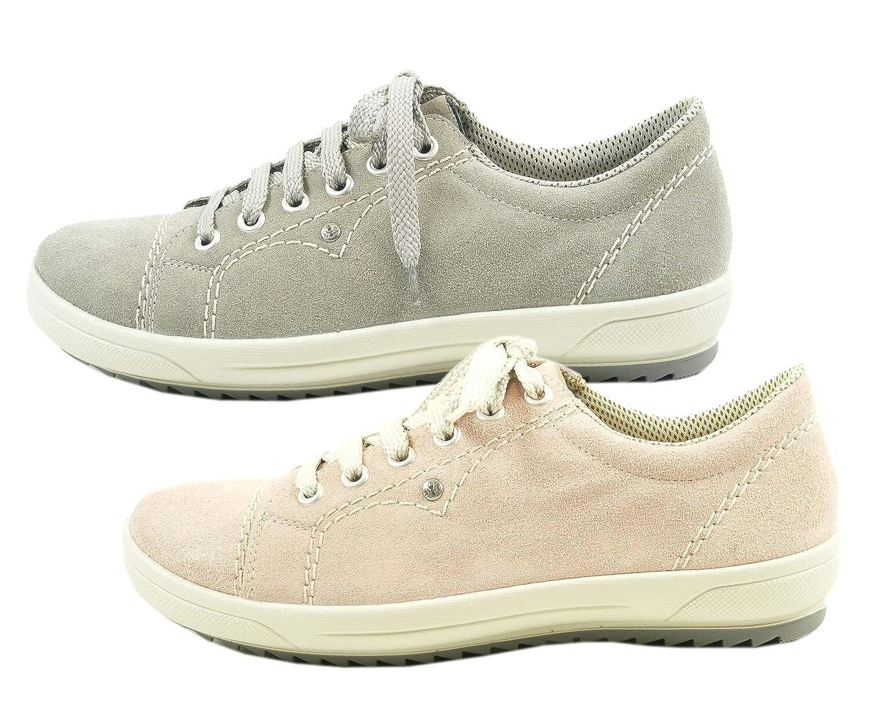 Rieker Damen Halbschuh Sneaker **NEU** M6014 42 Wildleder