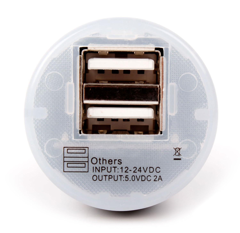 DURAGADGET Cargador Mechero del Coche con Puerto USB para eReader ...