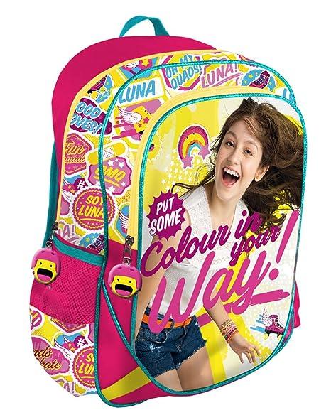 Mochila Soy Luna Colour adaptable grande