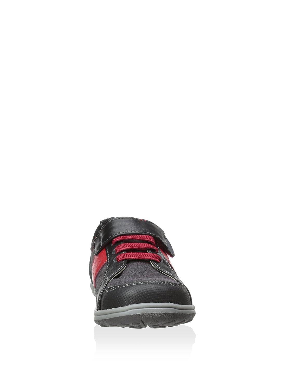 Black 13 See Kai Run Boys Macadam Contrast Stripe Suede Sneakers