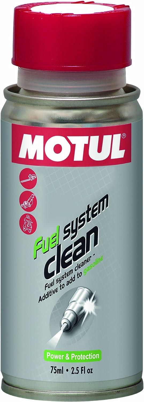 Motul 104879 Motoröle Fuel System Clean Für Kleinere 2 4 Takt Motoren 75 Ml Auto