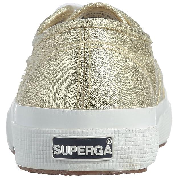Amazon.com | Superga 2750 Lamew, Womens Low-Top Sneakers, Gold (174), 5 UK (38 EU) | Fashion Sneakers