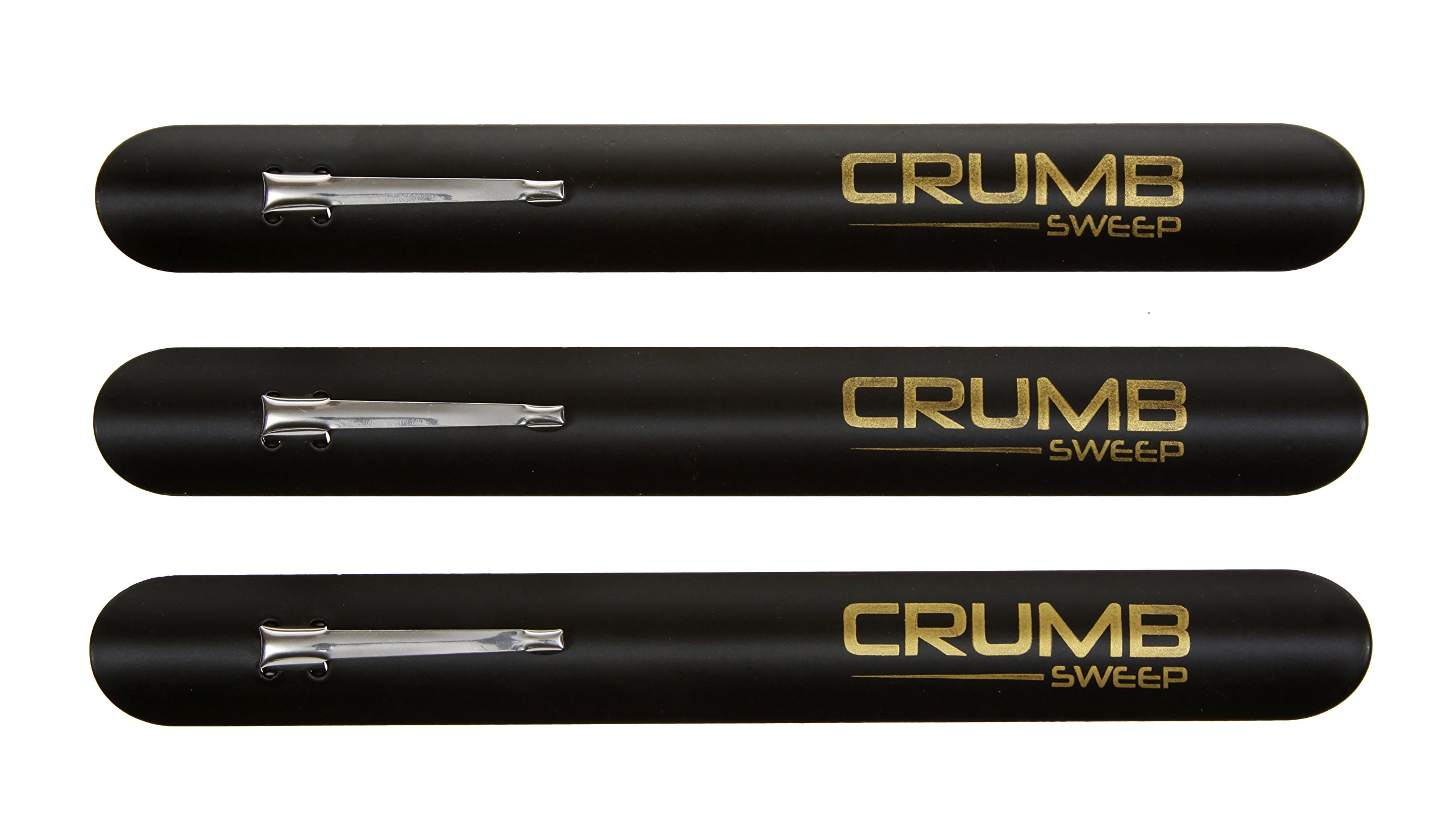 The Crumb Sweep, crumber tool - 3 crumbers in a package. Ideal for the busy restaurant waiter, waitress and server