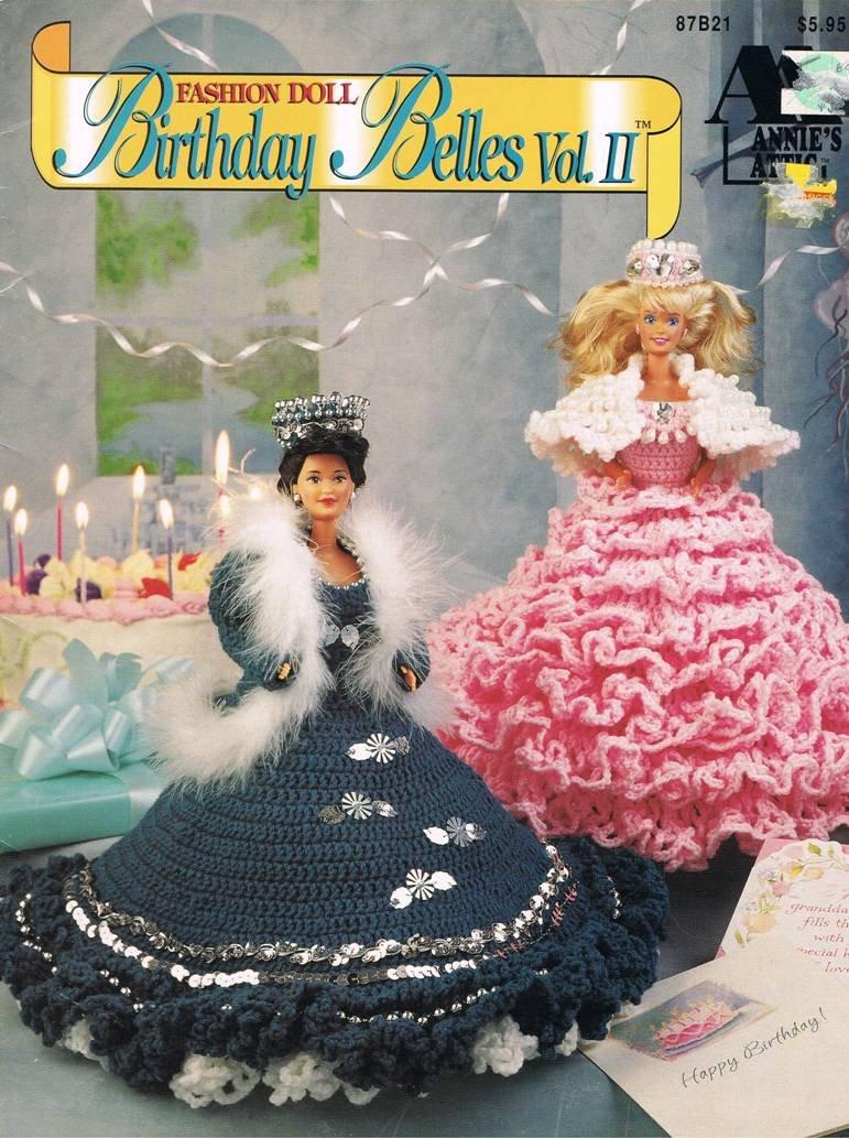 Annies Attic Crochet Pattern Booklet Birthday Belles Vol 2 For