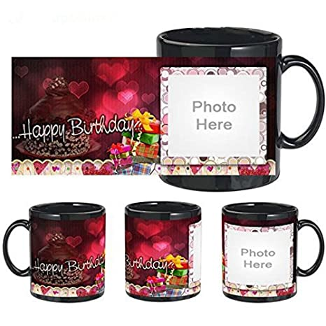 Buy Happy Birthday Message Personalized Mug