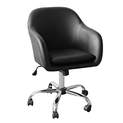 Amazing IDS Office Selection Home Office Desk Chair, Elegant Modern Design With  Side Arms, Chrome