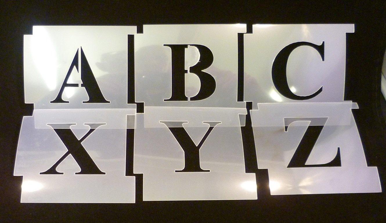 Free Printable Alphabet Template Upper Case 9
