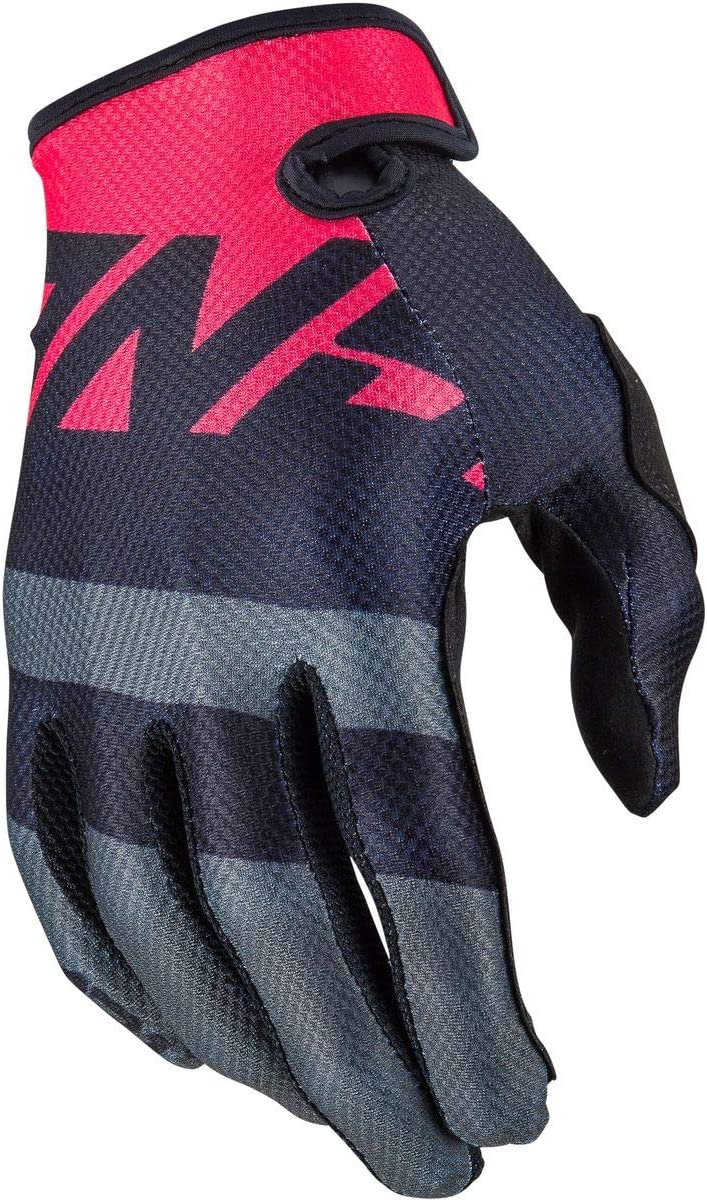 Answer 2020 Womens AR1 Gloves Black//Charcoal//Pink Voyd Large
