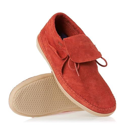Mocasines VANS de Mujer de color Naranja talla 42: Amazon.es: Zapatos y complementos