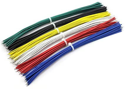 Strange Magicshell 120Pcs 20Cm 22Awg Double Tinned Jumper Wire Welding Lead Wiring Digital Resources Indicompassionincorg