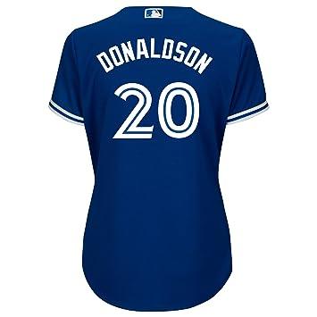 dc94eb9f0a0 Toronto Blue Jays Women s Josh Donaldson Cool Base Replica Alternate Jersey  - Size Small