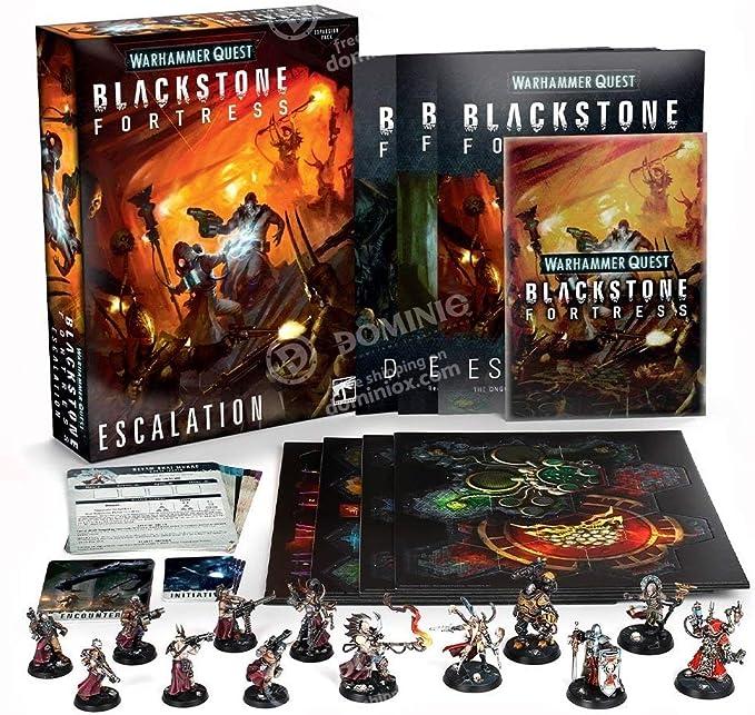 Games Workshop Expansion Blackstone Fortress: Escalation (English): Amazon.es: Juguetes y juegos