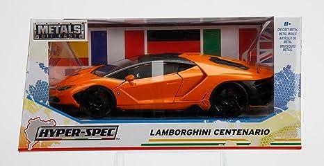 Amazon Com New 1 24 W B Jada Toys Collection Hyper Spec Orange