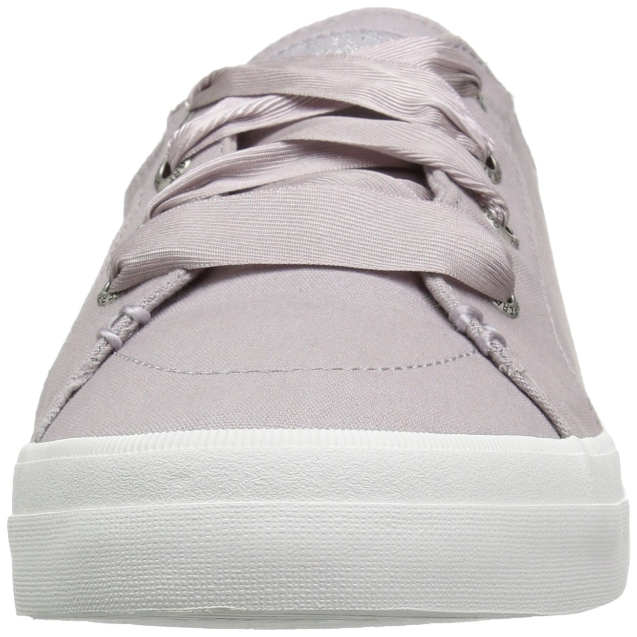 Sperry Top-Sider Women's Crest Vibe Satin Lace Sneaker B076JNQFFK W 075 Wide US|Light Purple