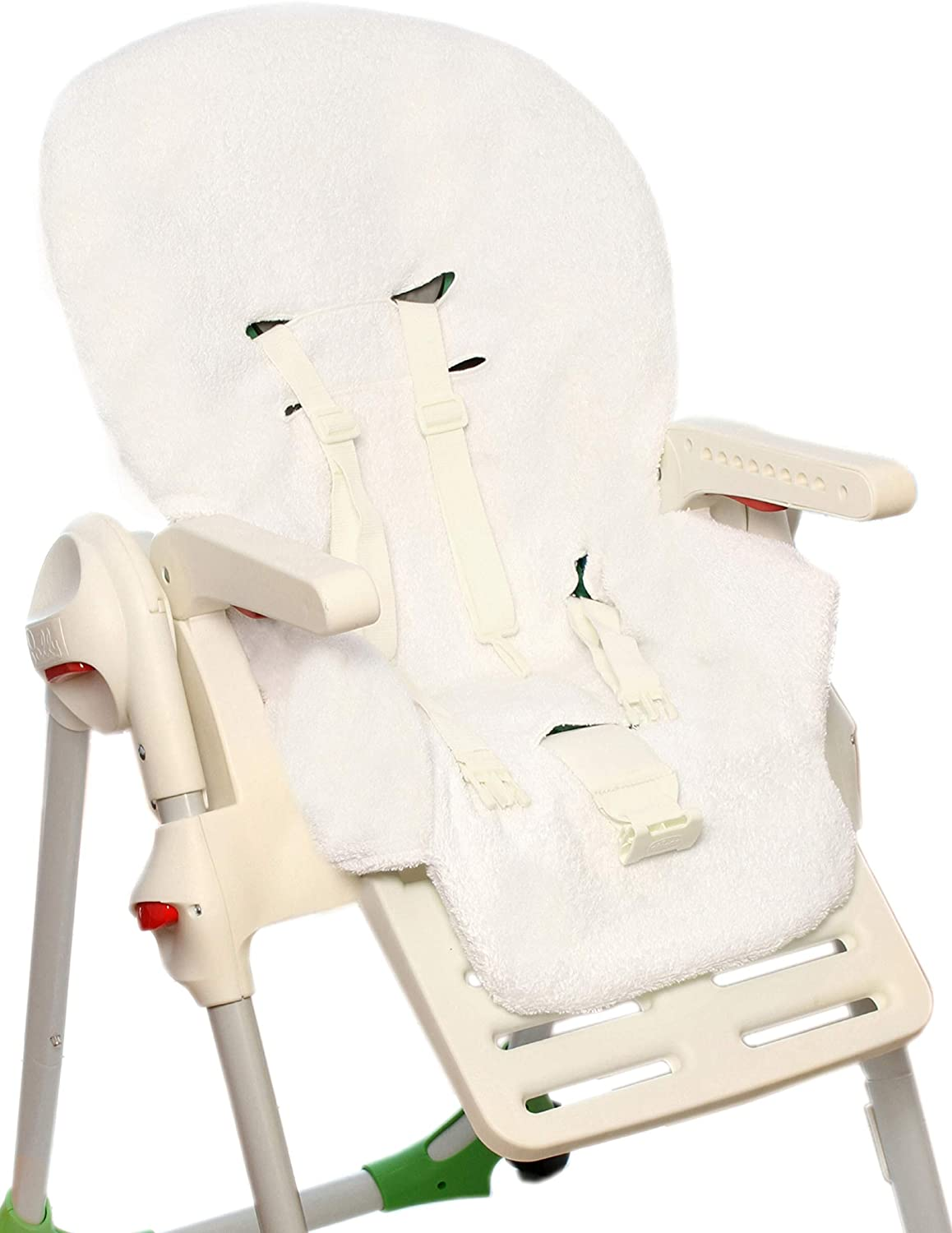 BRUCHINO Italy/® Highchair Cover Chicco Polly 100/% Cotton Made in Italy