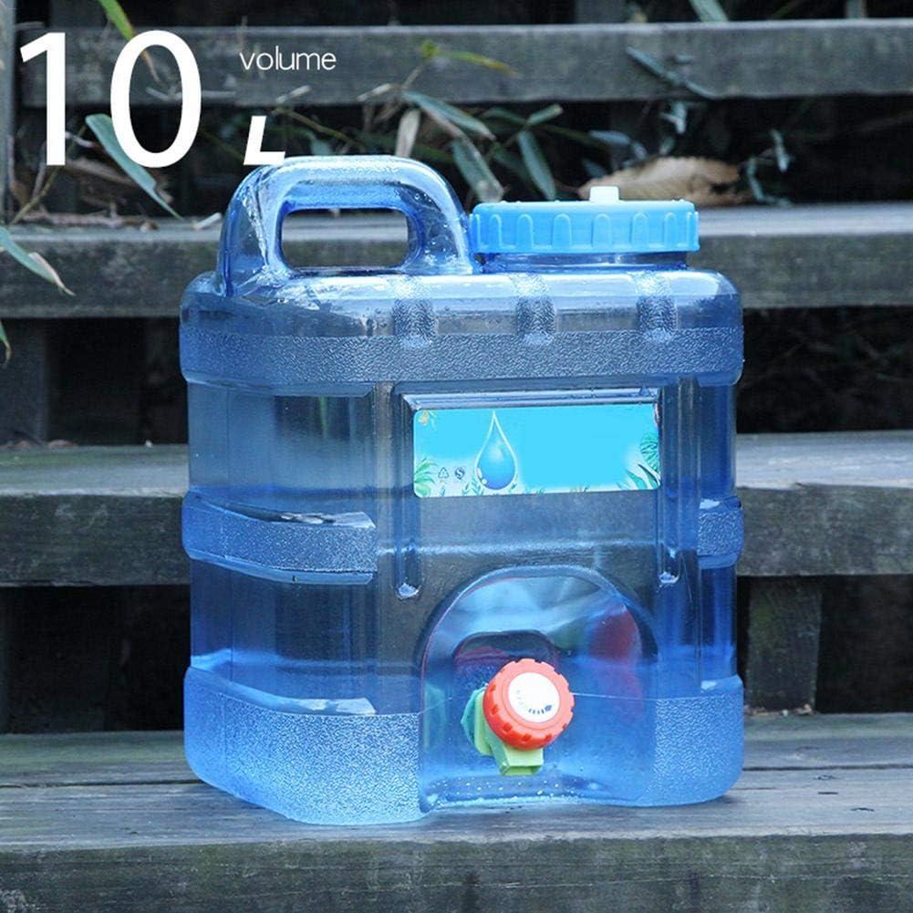 Bidon /à eau 10 l avec robinet de vidange et robinet en plastique sans BPA pour le camping