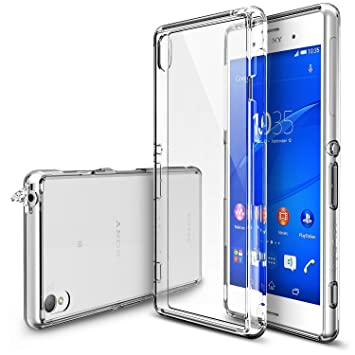 official photos 012d1 aef67 Sony Xperia Z3 Case - Ringke fusion Shock Absorption Bumper Hard Cover for  Sony Xperia Z3 (No Dual/Z3 V) - Clear