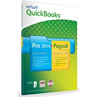 QuickBooks Pro 2014 + Enhanced Payroll 2014 Bundle - 1 Year Subscription - 1 User (PC)