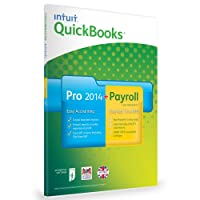 QuickBooks Pro 2014 + Enhanced Payroll 2014 Bundle - 1 Year Subscription - 1 User (PC)