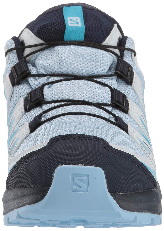 SALOMON xa pro 3d cswp j, scarpe sportive bambino, blu chiaronero (cashmere blueillusion bluecyan blue), 34 eu