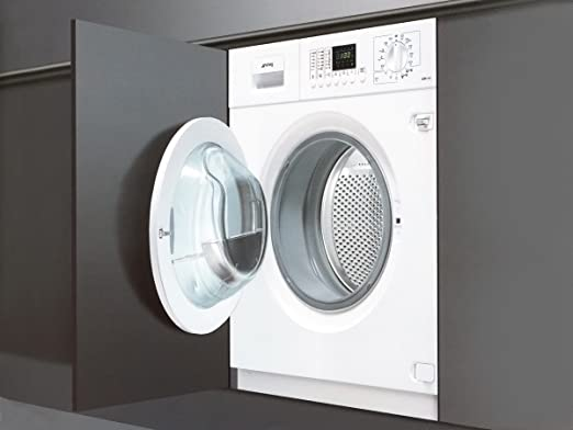 Smeg LSTA146S Integrado Carga frontal B lavadora - Lavadora ...