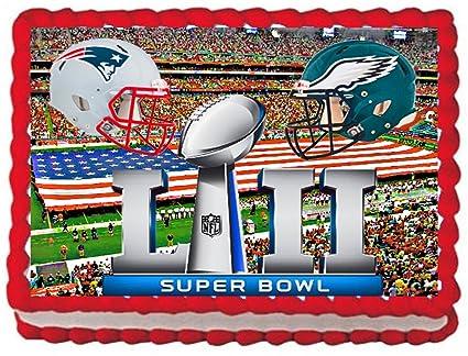 Amazon com: Super Bowl 52 New England Patriots VS