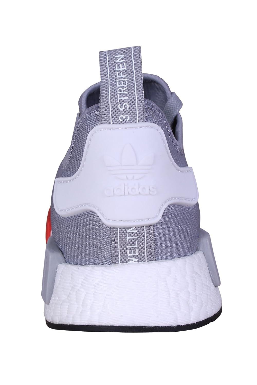 Amazon.com | Adidas Originals Men\u0027s Primeknit NMD_R1 Running Shoes (Black)  | Road Running