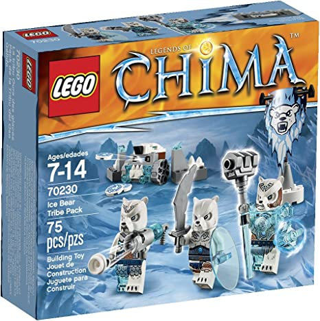LEGO Chima Ice Bear Tribe Pack by LEGO: Amazon.es: Bebé