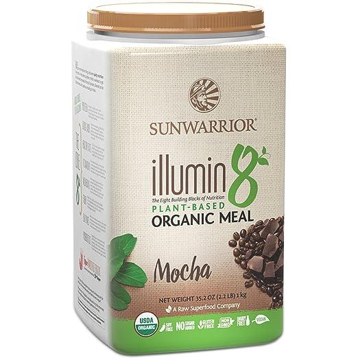 Sunwarrior - Illumin8, Plant-Based Organic Meal