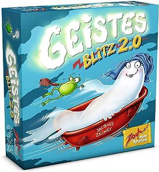 Zoch Geistesblitz 2.0 Niños Juego de Habilidades motrices Finas - Juego de Tablero (Juego de Habilidades motrices Finas, Niños, 30 min, Niño/niña, 8 año(s), 130 x 40 x 130 mm): Amazon.es: Juguetes y juegos