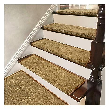 Carpet Runner For Stairs Non-slip Floor Protector 30/' Beige Washable Long Rug
