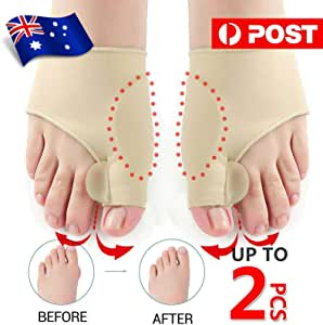 Bunion Corrector Hammer Toe Splint Straightener Orthopedic Brace Hallux Valgus (1 Pair)