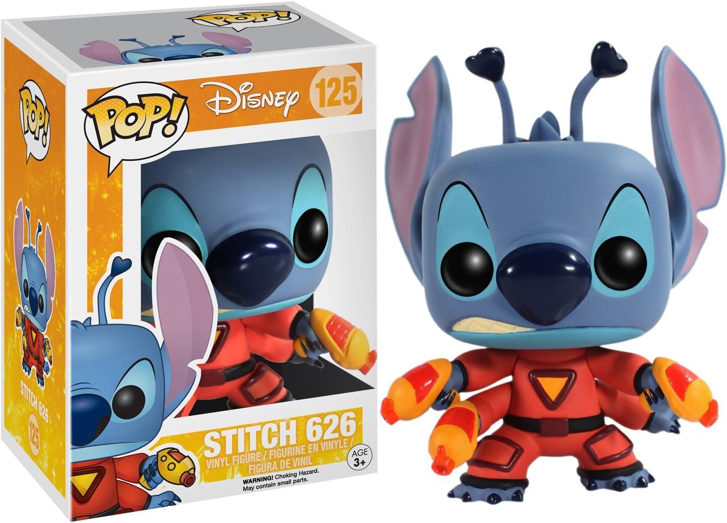 Amazon.com: Figura de vinilo Funko POP de Disney: Stitch 626 ...