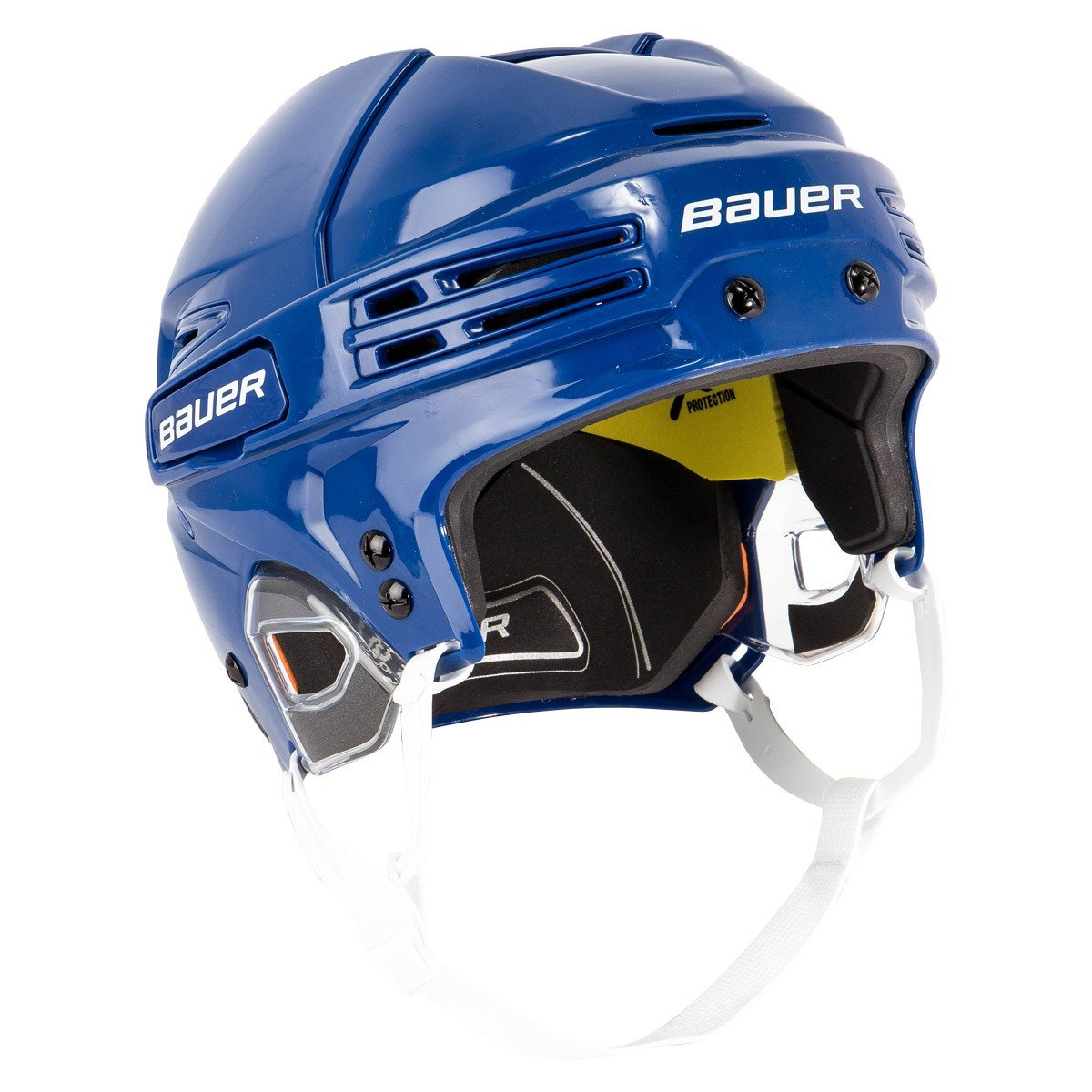 Bauer React 75 Helmet, Taille:S, Couleur:Blue Unknown
