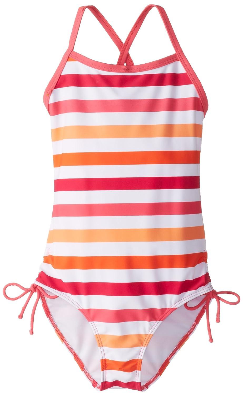 Kanu Surf Girls' Sassy One-Piece Swimsuit Pink/Orange 12 Kanu Surf Girls 7-16