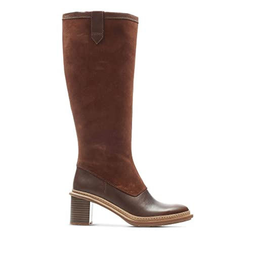 33e24486e5cf Clarks Trace Mist Leather Boots in Tan Combi  Amazon.co.uk  Shoes   Bags