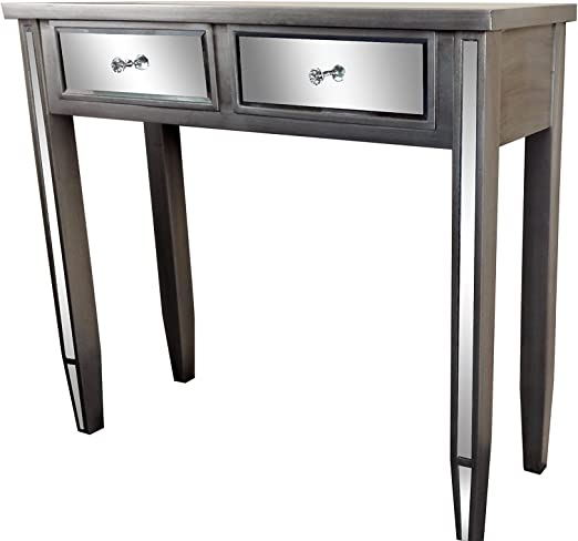 Mesa de café de Pizarra y Rosa, Madera, 80 cm de Alto x 90 cm de ...