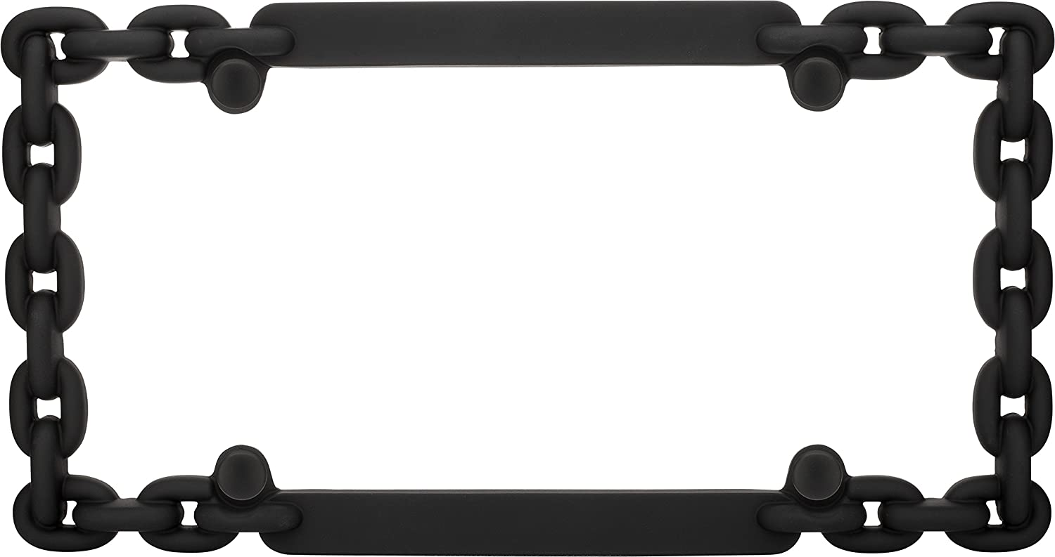Chrome Cruiser Accessories 20530 Chain License Plate Frame