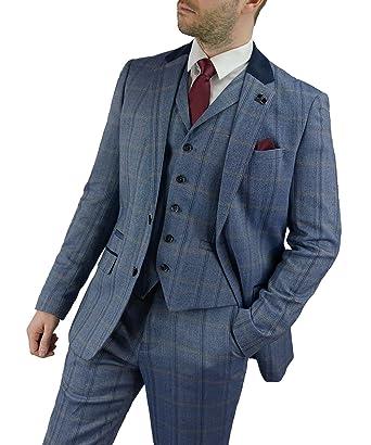 Exklusive Angebote schön und charmant Top Design Cavani Herren Connall Anzug 3-Teilig, Braun