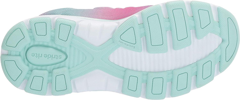 Stride Rite Baby-Girls Made2play Cora Girls Machine Washable Athletic Sneaker Sneaker
