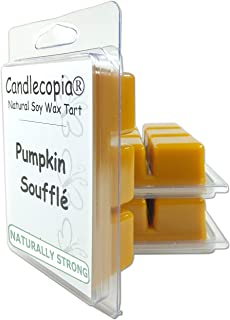 product image for Candlecopia Pumpkin Soufflé Strongly Scented Hand Poured Vegan Wax Melts, 18 Scented Wax Cubes, 9.6 Ounces in 3 x 6-Packs
