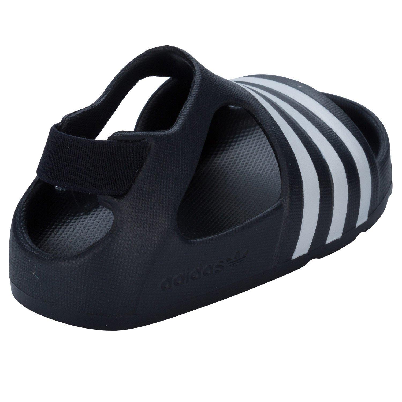 2f1f5471e99e adidas Boys Infant Boys Adilette Sandals in Black - 5.5 Infant   Amazon.co.uk  Shoes   Bags