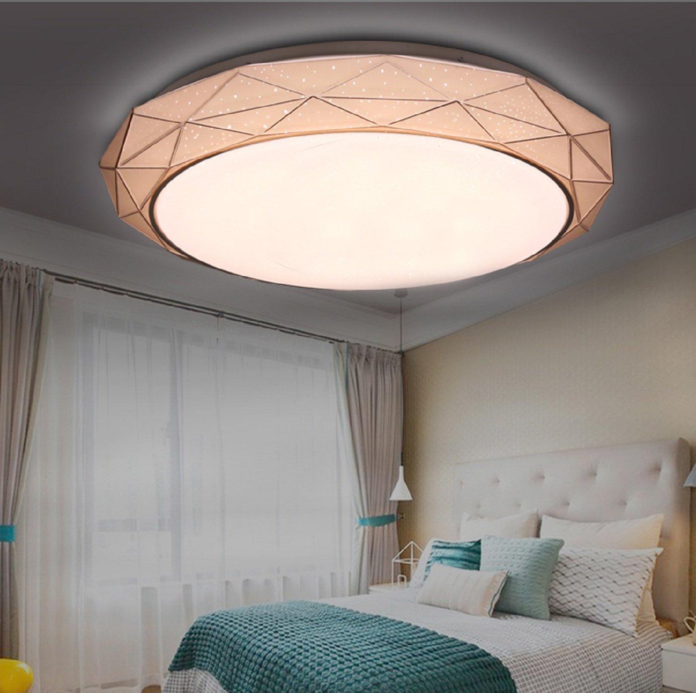 Nuevo Diseñador nórdico PVC sombra geométrica lámpara ...