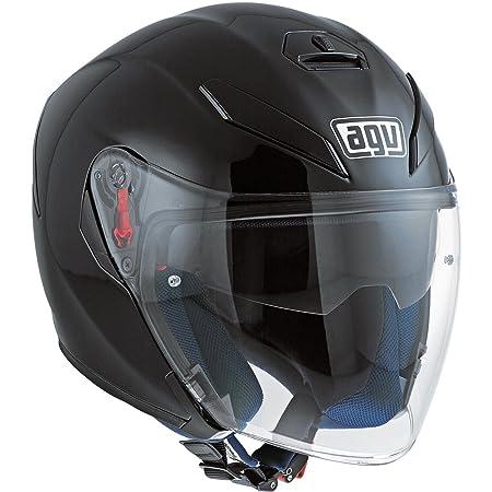 Casco moto abierto AGV K-5 Jet negro mate (MS): Amazon.es: Deportes y aire libre