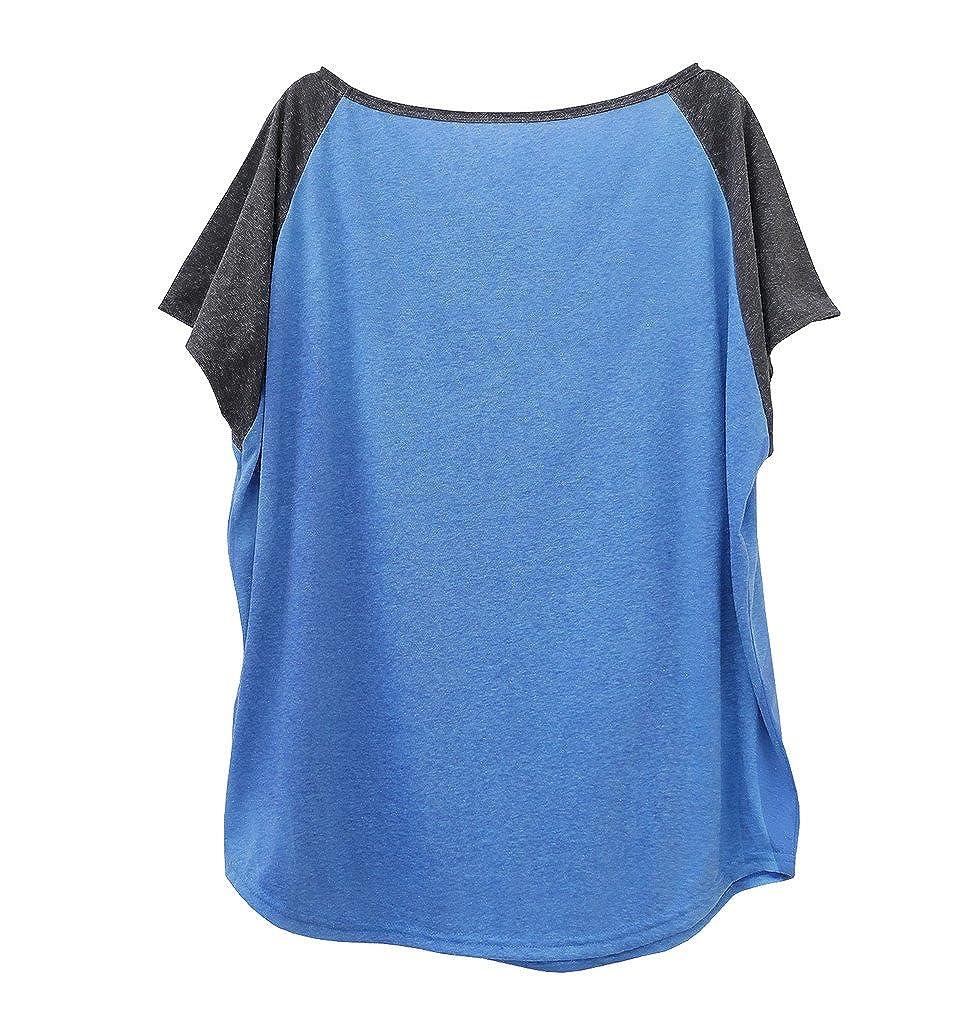 TeeMixed Slouchy Raglan T-Shirt MILKMAID