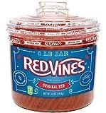 Red Vines Red Original Licorice Twists (4 Pound Jar)